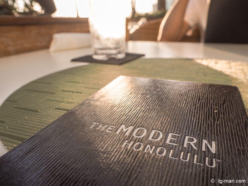 モダンホノルルのレストラン「the glove」