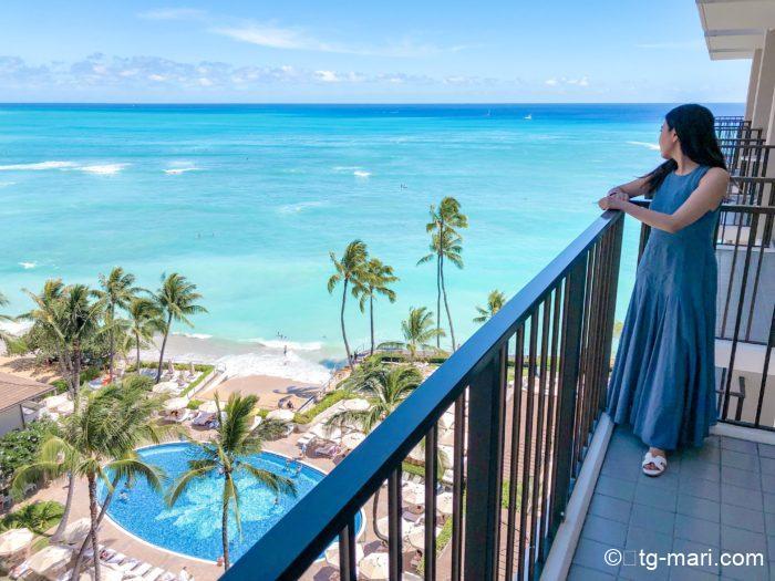 ハワイのハレクラニホテル