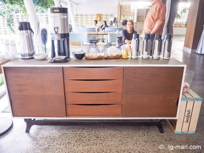 サーフジャックのコーヒーサービス