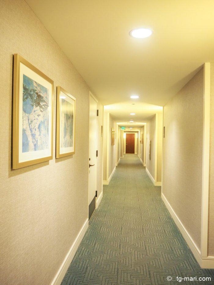 トランプホテルの廊下