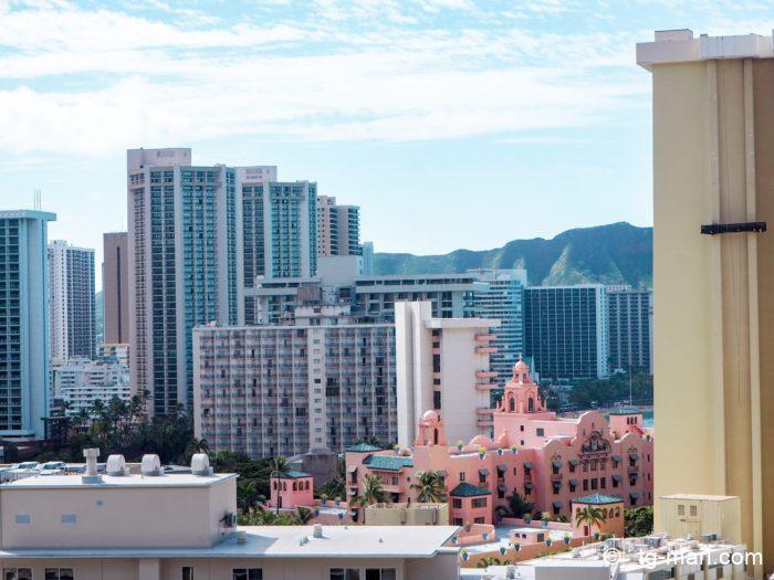 トランプホテルの眺望