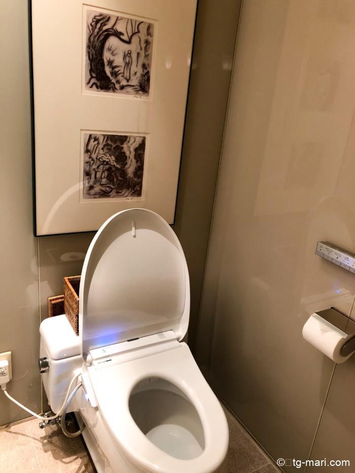 パークハイアット東京のトイレ