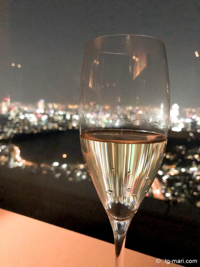 パークハイアット東京の夜景