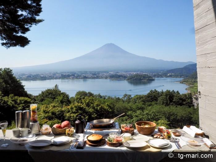 星のや富士の朝食メニュー
