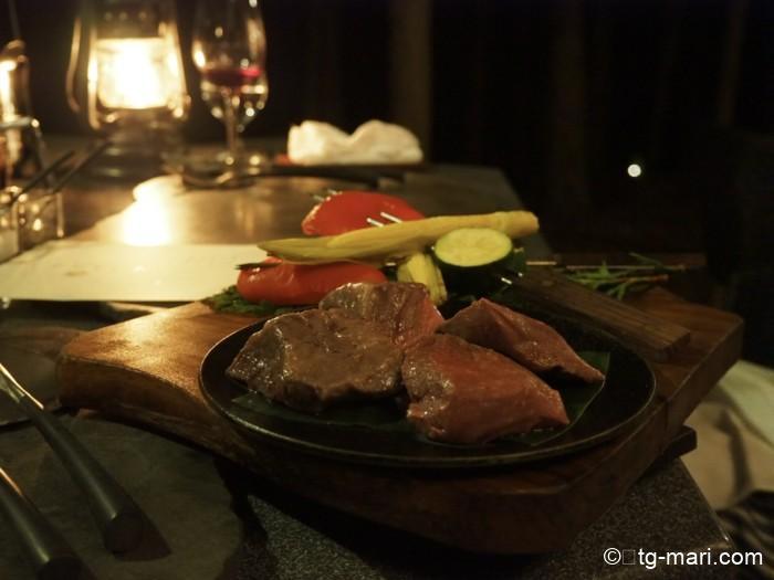 星のや富士のダッチオーブンディナー