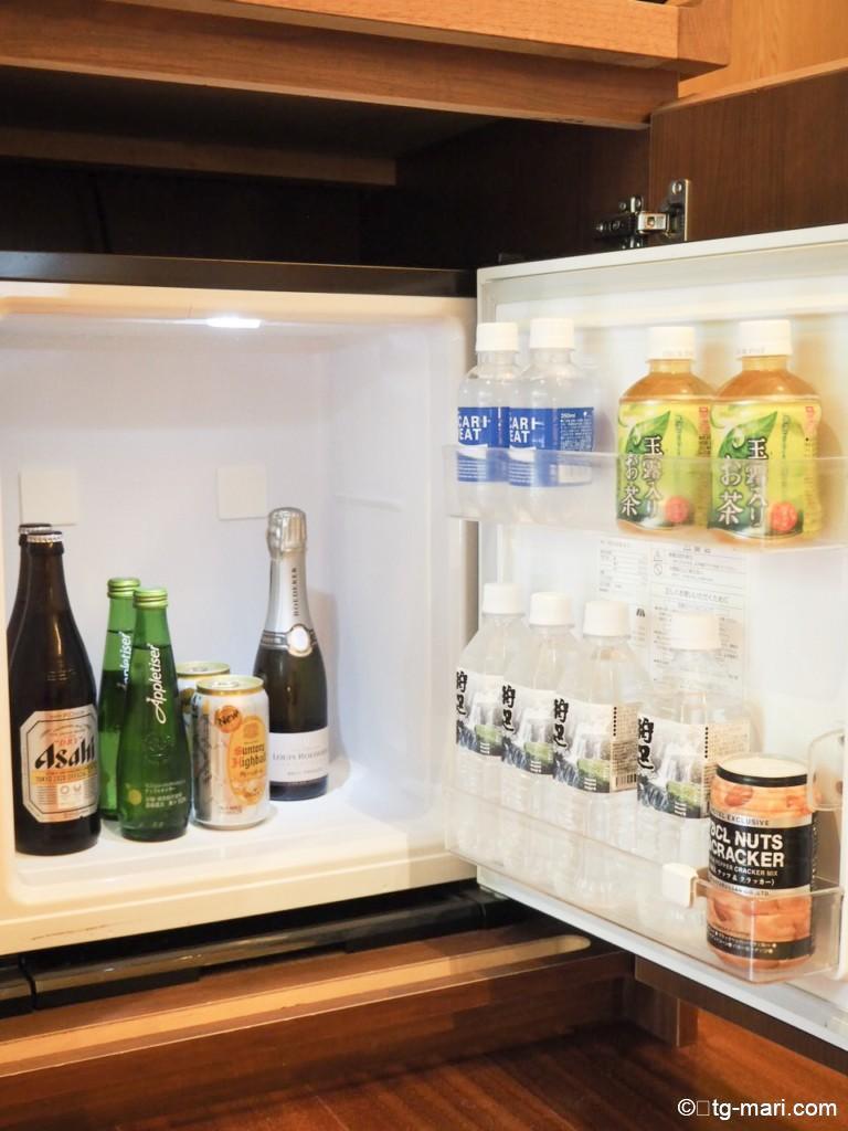 坐漁荘の冷蔵庫