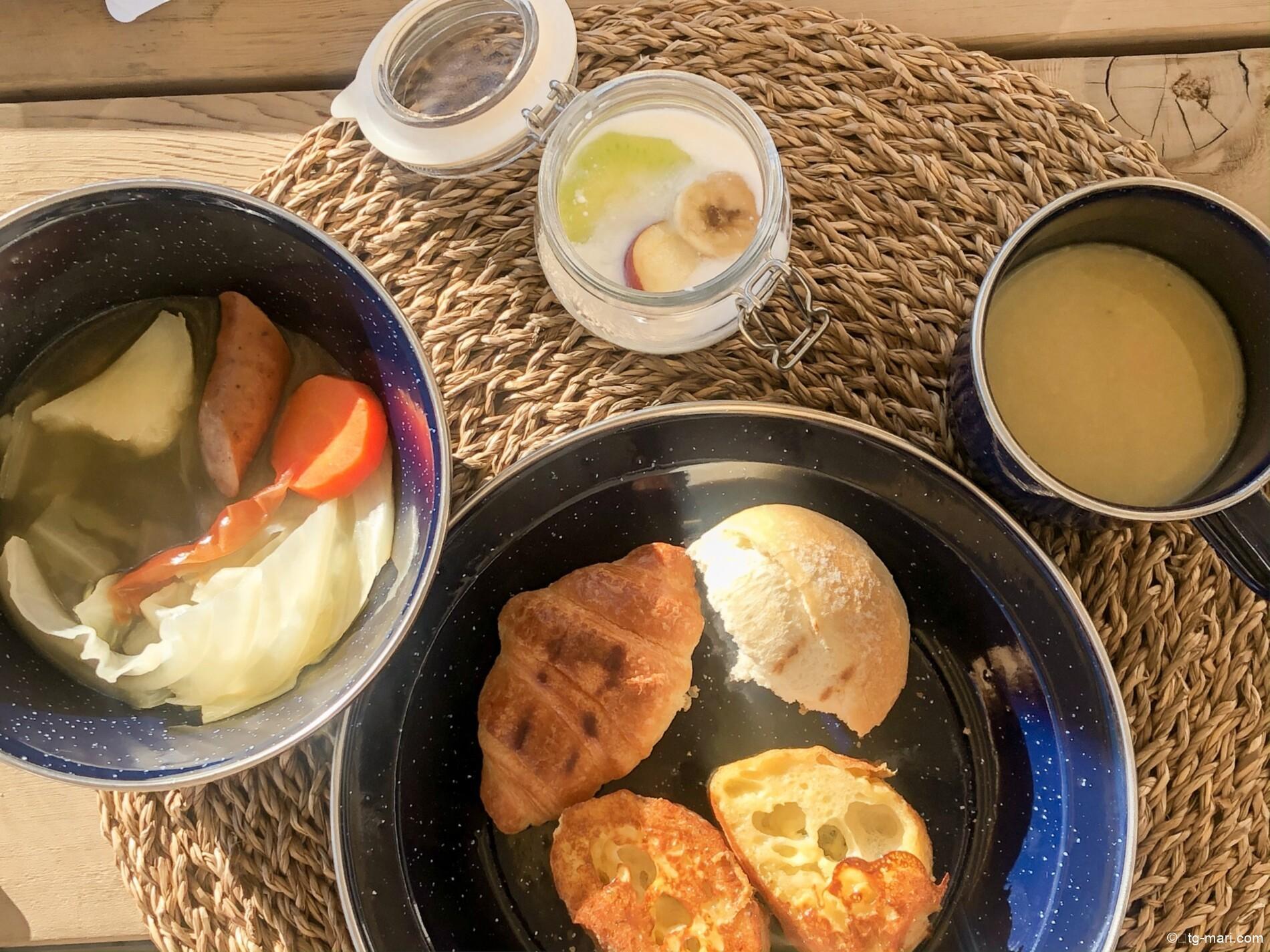 エトワ笠間の朝食