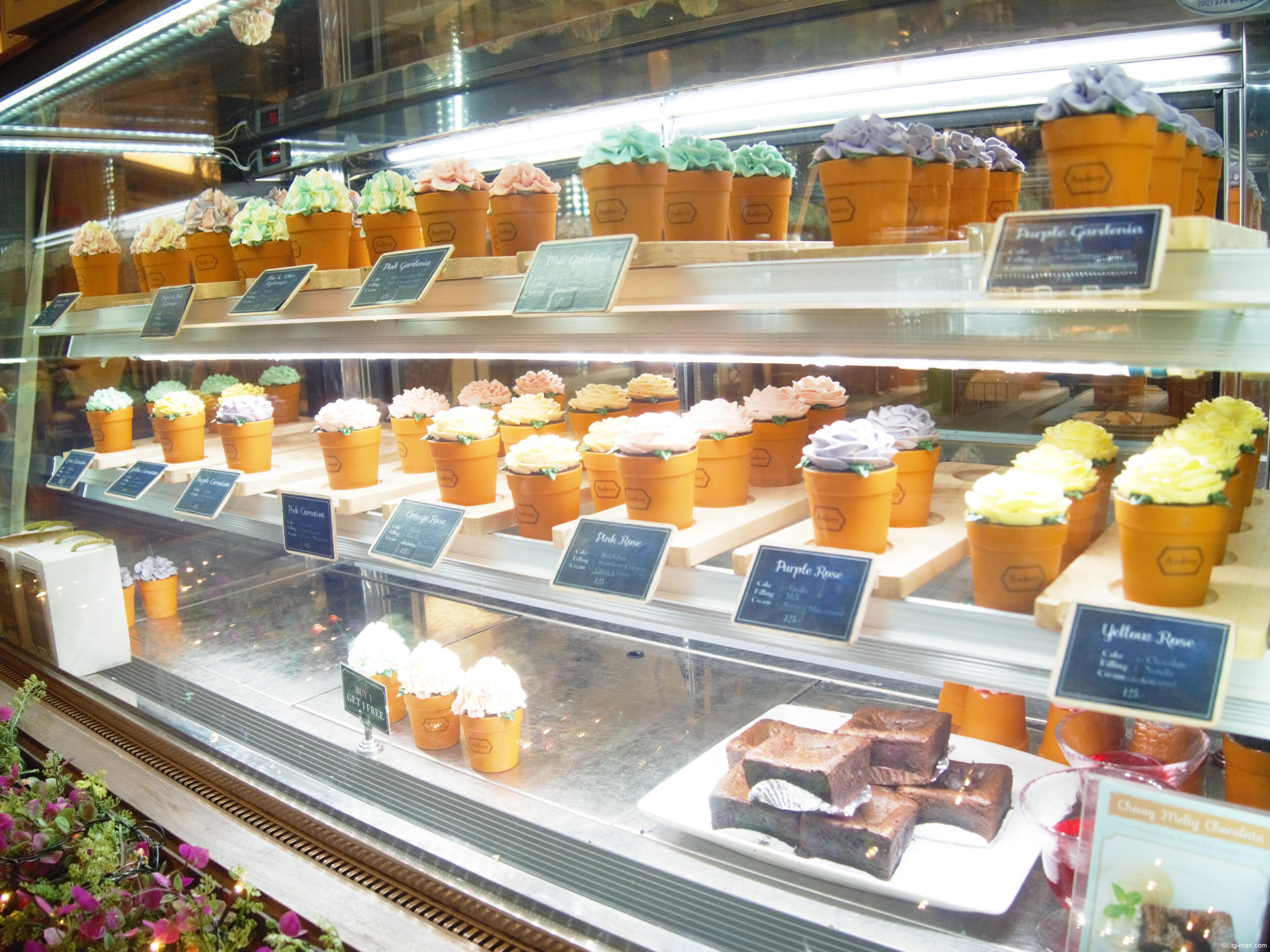【Audrey Cafe】バンコクのフォトジェニックでインスタ映えする可愛いカフェ愛いカフェ