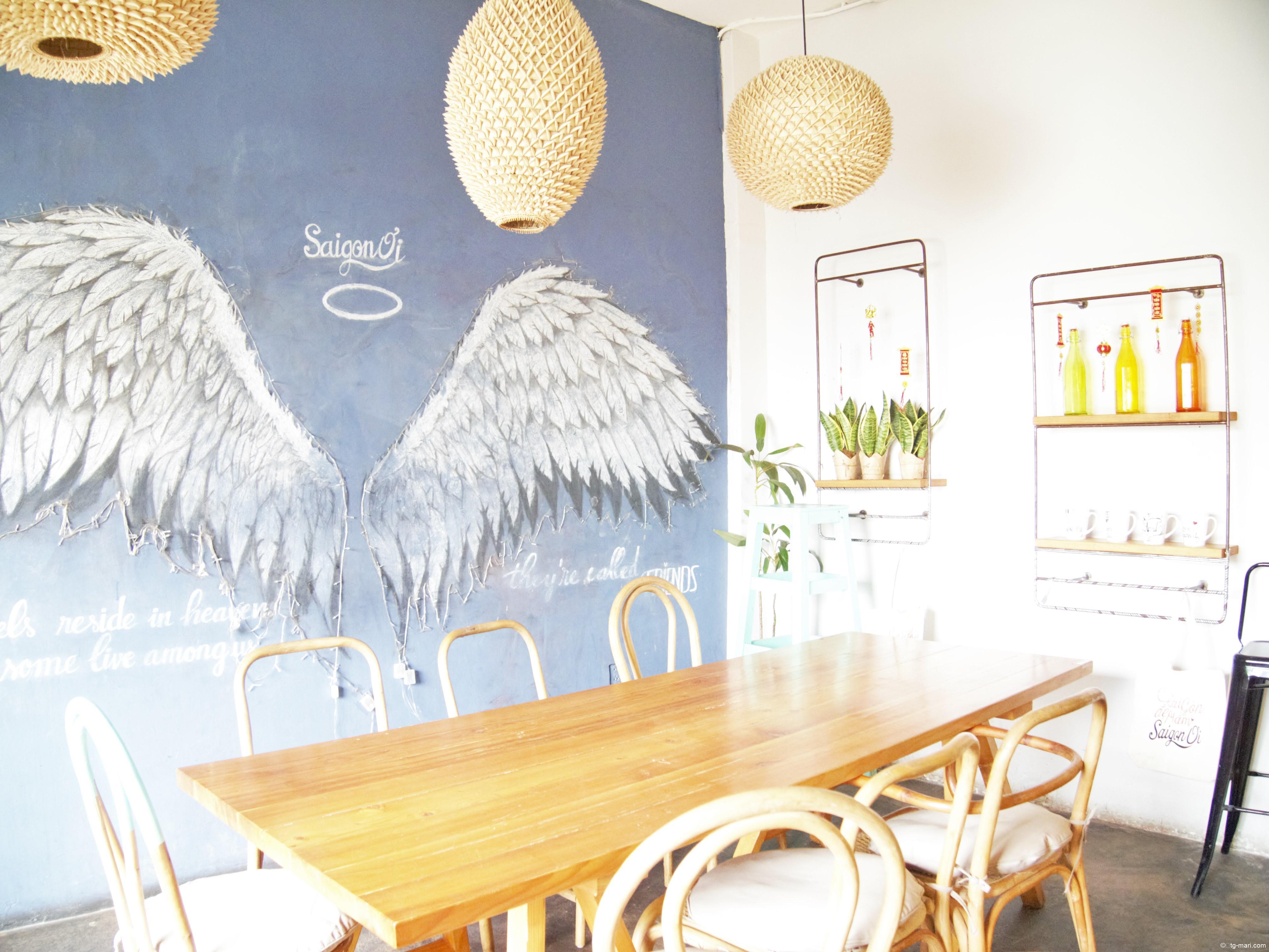 ホーチミンのカフェ「サイゴン・オーイ」