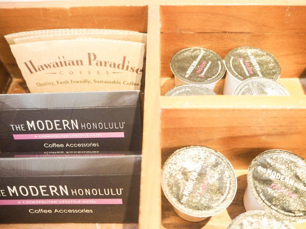 モダンホノルルのコーヒー