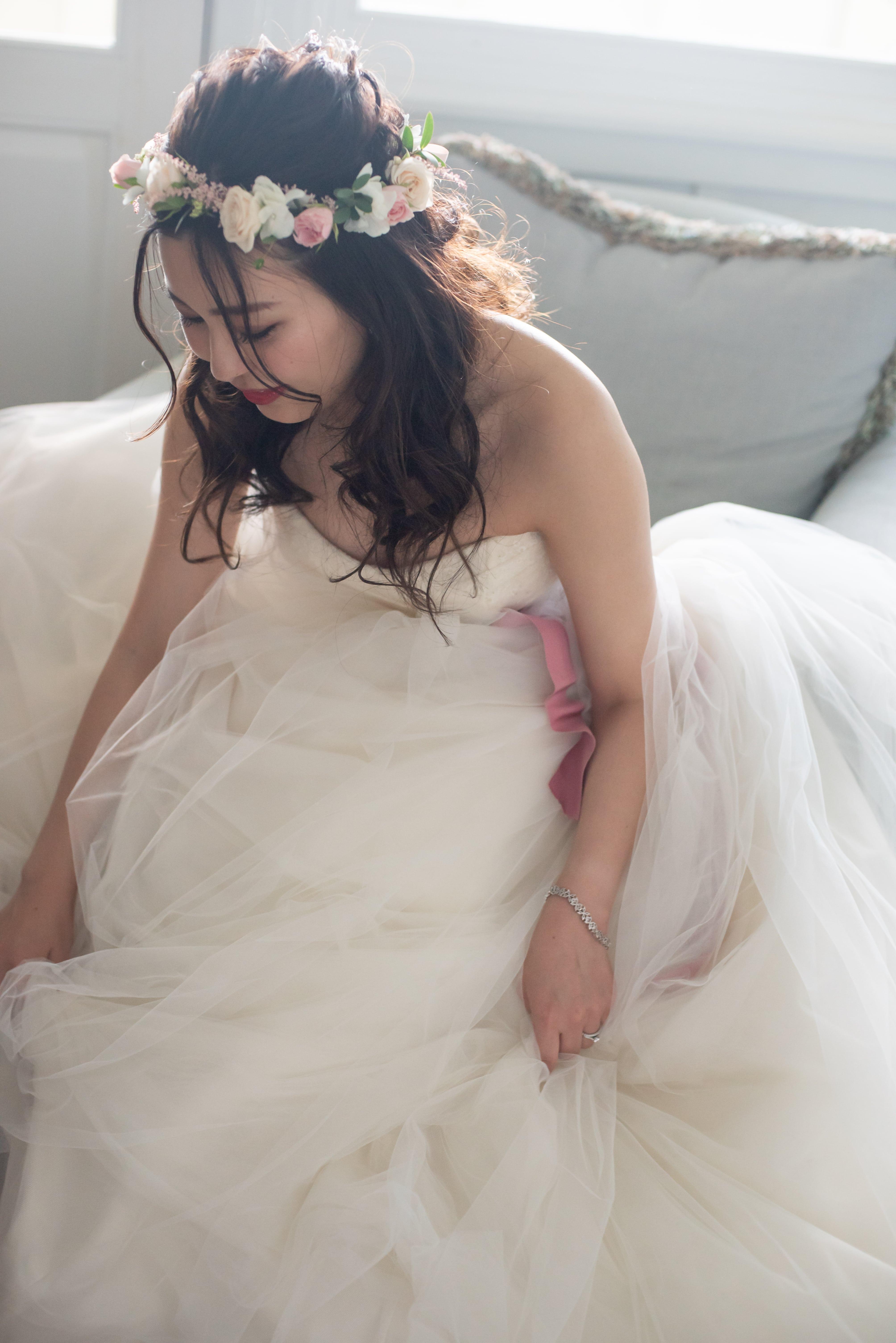 Verawangのウェディングドレス