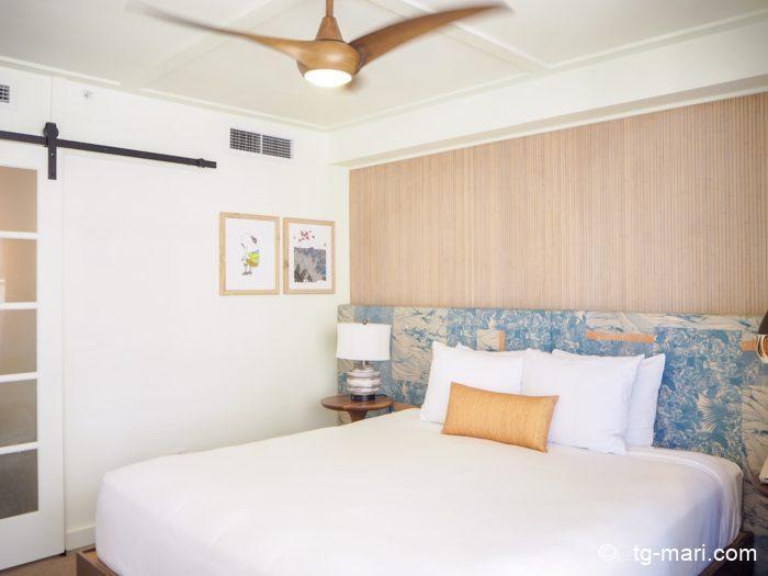 サーフジャックのベッドルーム