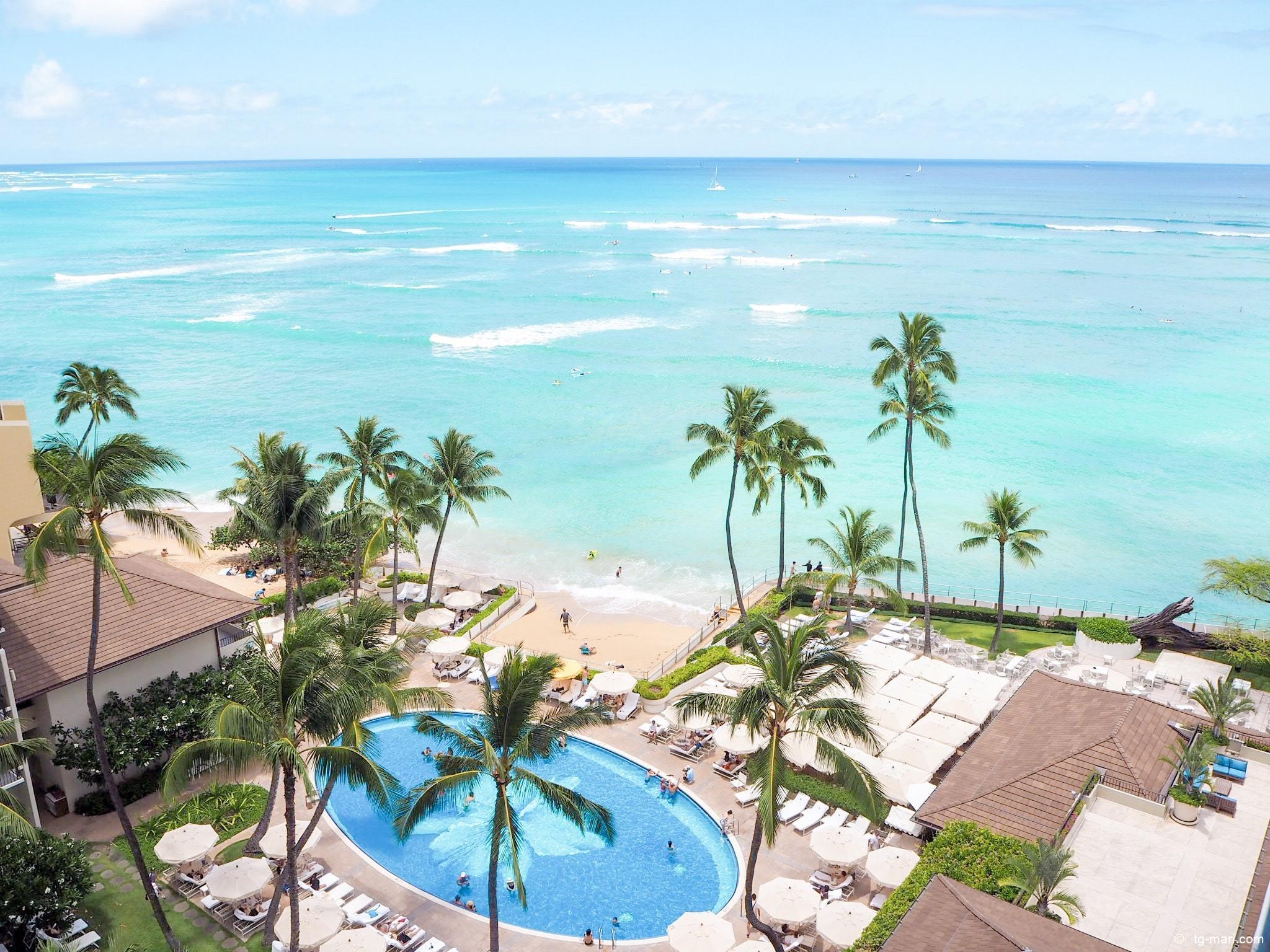 ハワイのハレクラニ