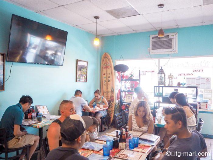 マウイ島の808グラインズ カフェ