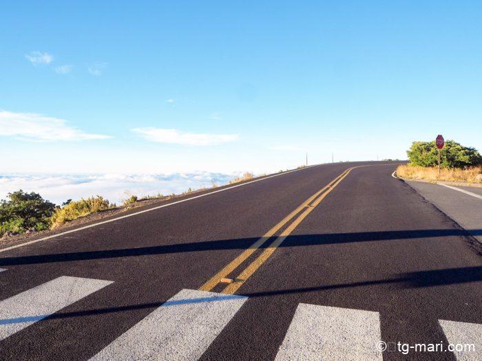 ハレアカラ国立公園の横断歩道