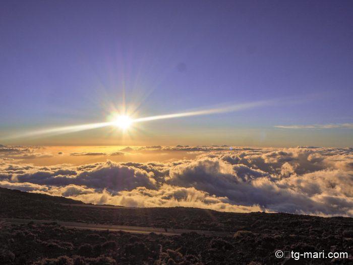 ハレアカラ国立公園の雲海