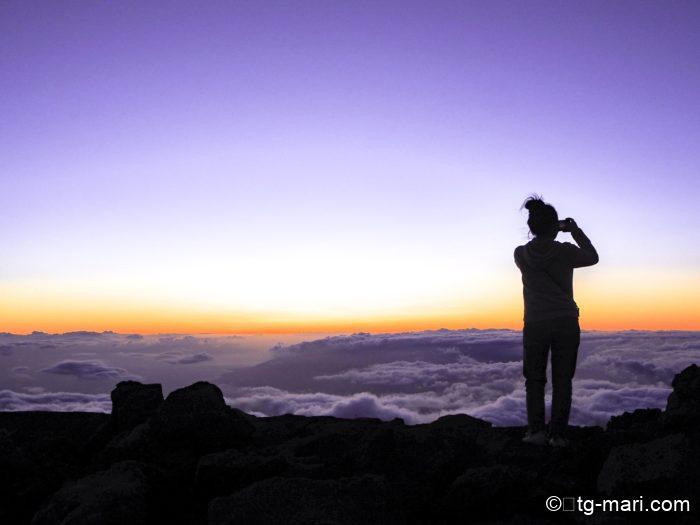 ハレアカラの頂上