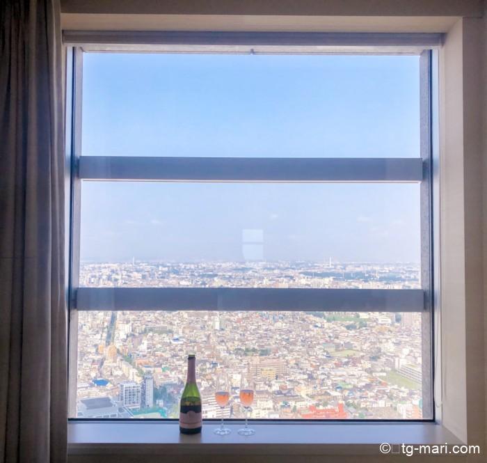 パークハイアット東京の眺望