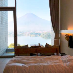 【星のや富士のお部屋】キャビンスタイルで優雅にグランピングを大満喫