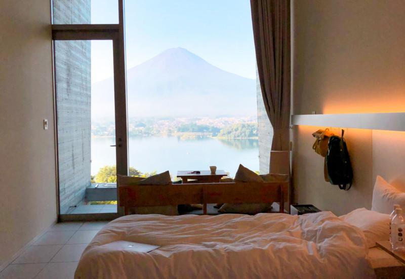 星のや富士のお部屋