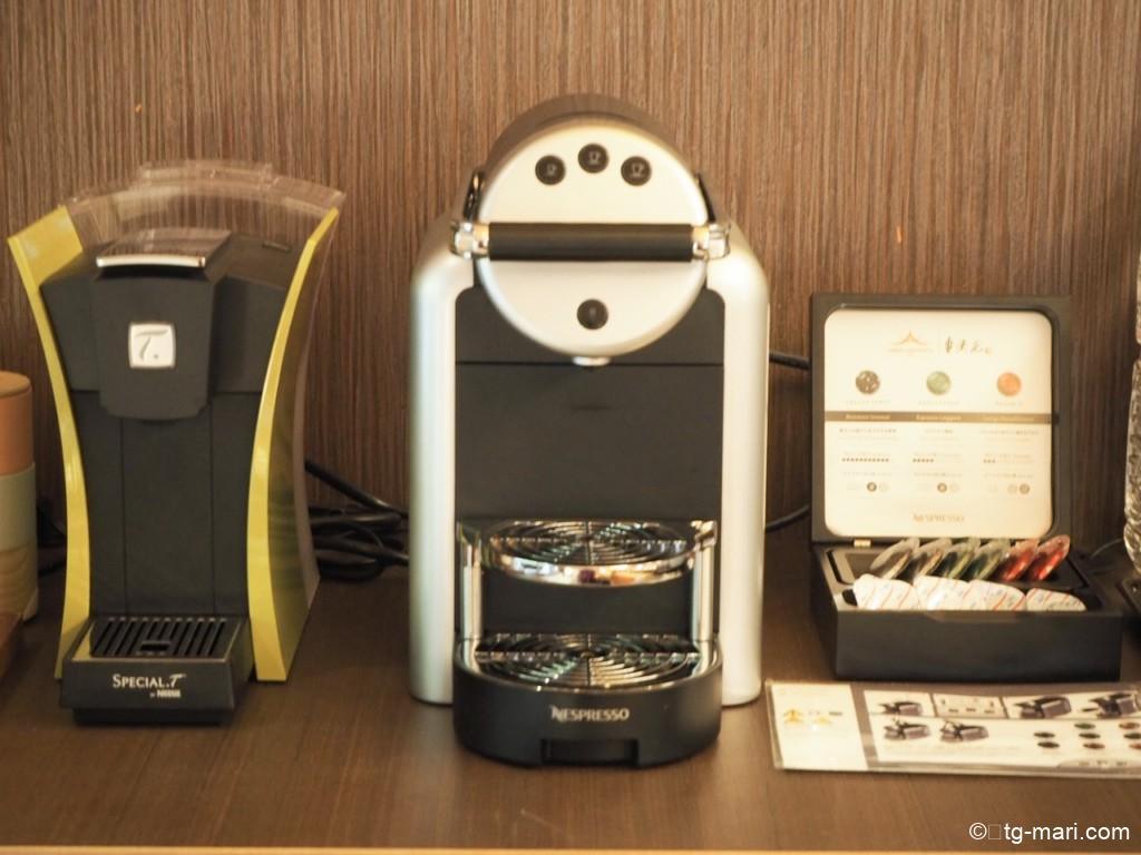 坐漁荘のコーヒーメーカー