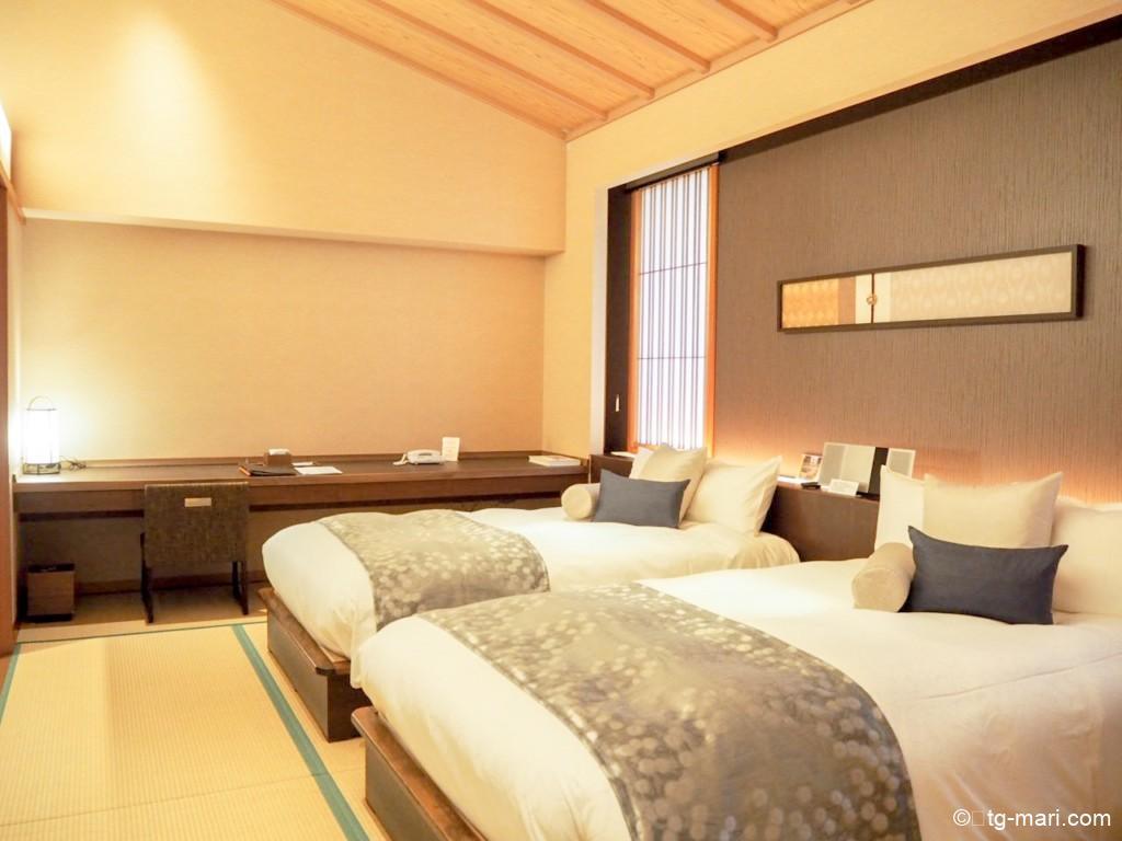 坐漁荘の寝室