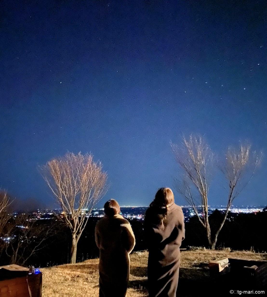 エトワ笠間で星空観測