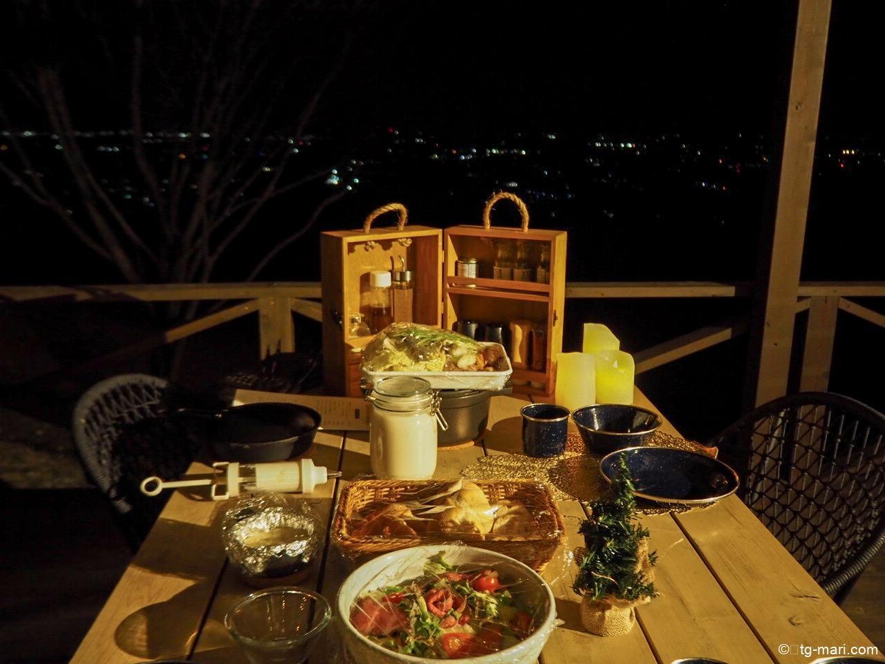 エトワ笠間のディナー