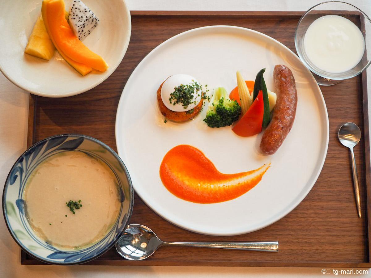 シチリア朝食のメニュー