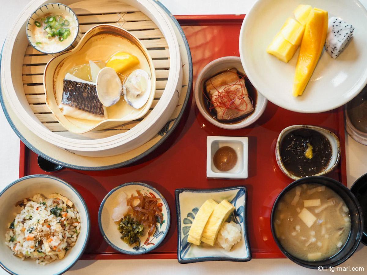 琉球朝食のメニュー